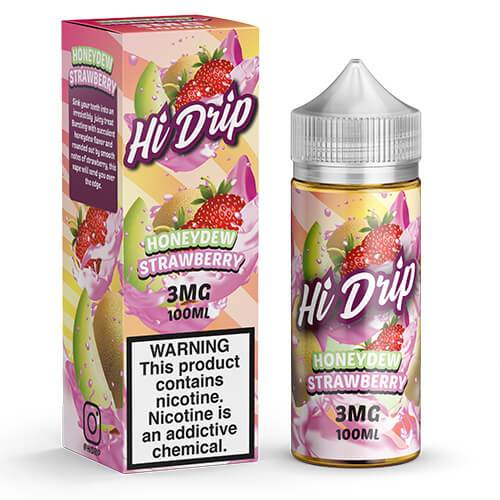 Hi Drip eJuice - Honeydew Strawberry
