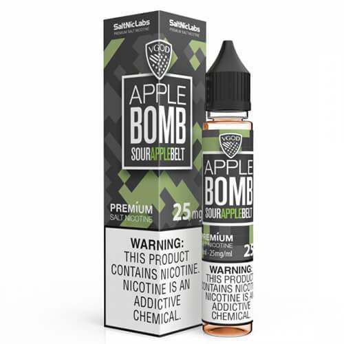 VGOD and SaltNic eJuice - Apple Bomb