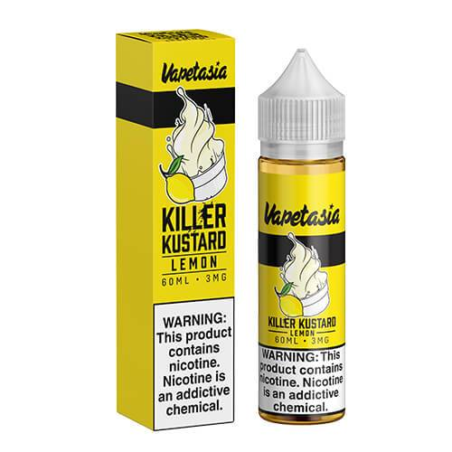 Vapetasia eJuice - Killer Kustard Lemon