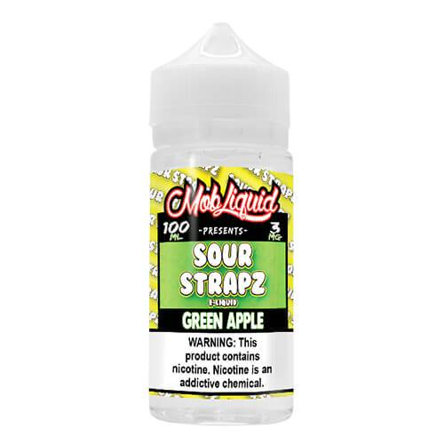 Sour Strapz eLiquid - Green Apple