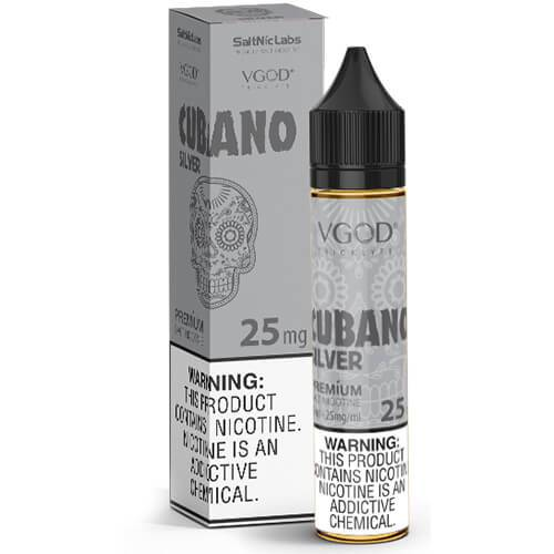 VGOD and SaltNic eJuice - Cubano Silver