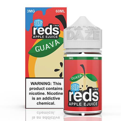 Reds Apple EJuice - Reds Guava ICED