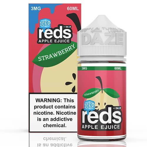 Reds Apple EJuice - Reds Strawberry ICED