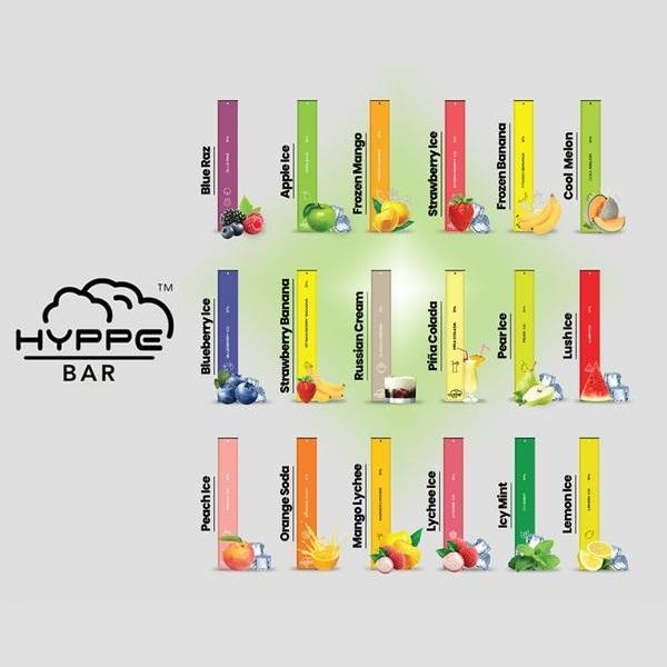 Hyppe Bar Disposable (5%) - 1 Bar