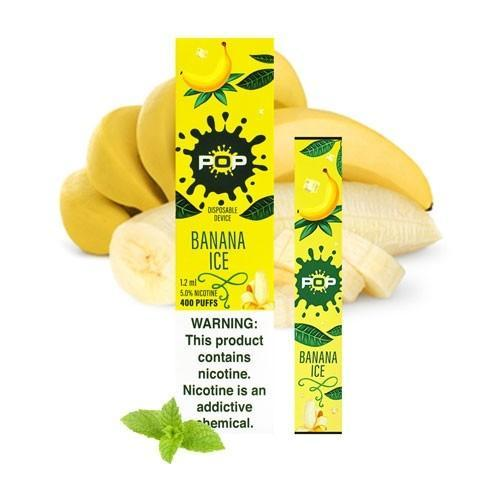 Pop Disposable (5%) - Banana Ice - 1 Bar
