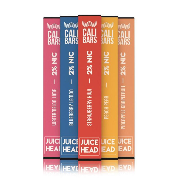Cali Bars x Juice Head Disposable (2%) - Box of 10
