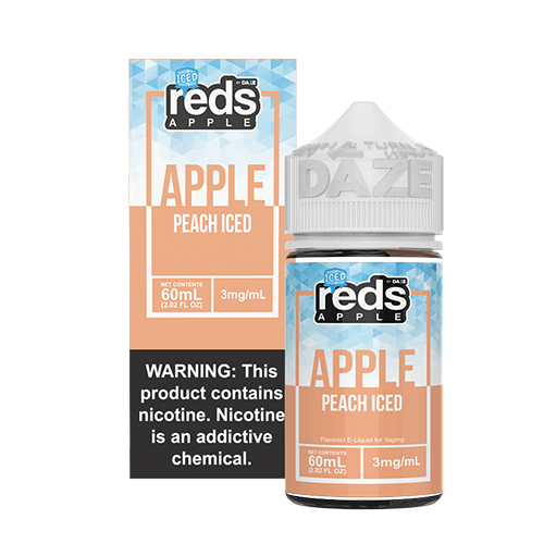 Reds Apple EJuice - Reds Apple Peach ICED