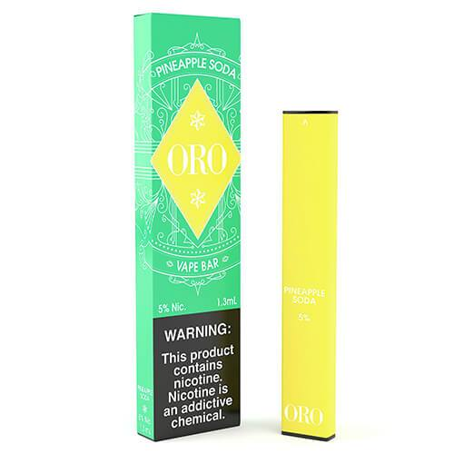 ORO - Disposable Vape Device - Pineapple Soda