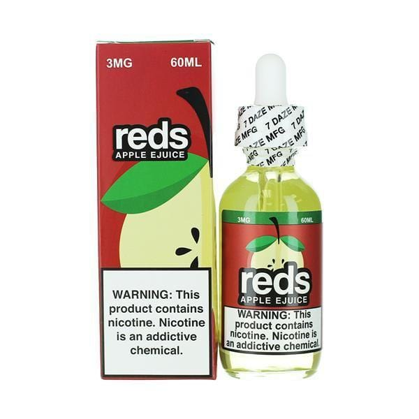 Apple E-Liquid by Reds Apple E-Juice 60ML