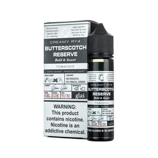 Butterscotch Reserve E-Liquid by Glas Vapor - Basix Series 60ML