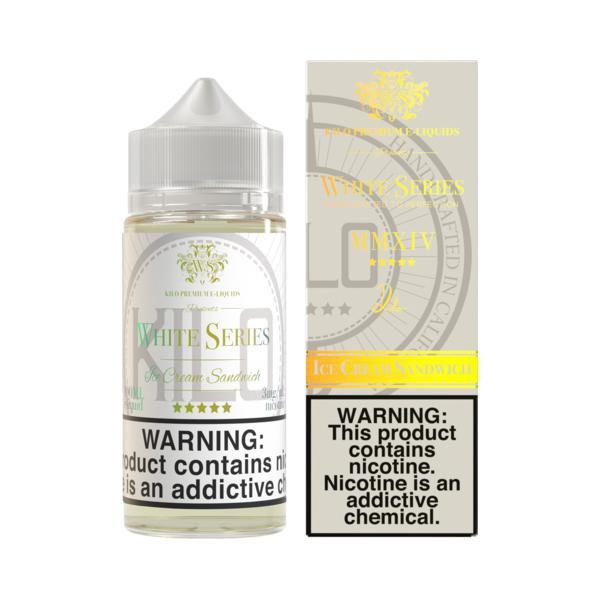 Ice Cream Sandwich E-Liquid by Kilo - White Series 100ML