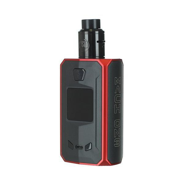 Mach ON3 240W TC Squonk Kit by USV Black And Red