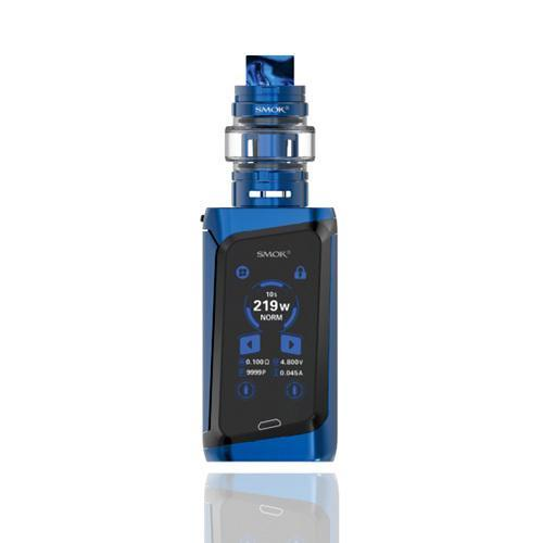 SMOK Morph 219W TC Starter Kit Prism Blue and Black