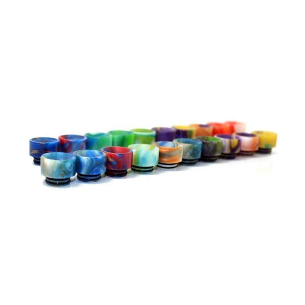 Stumpy Wide Bore Drip Tips by ASMODUS Color Patterns