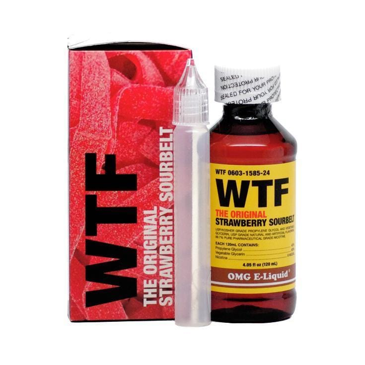 WTF E-Liquid by OMG E-Liquid 120ML