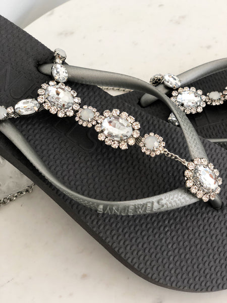 Love Story Jewelled Sandals