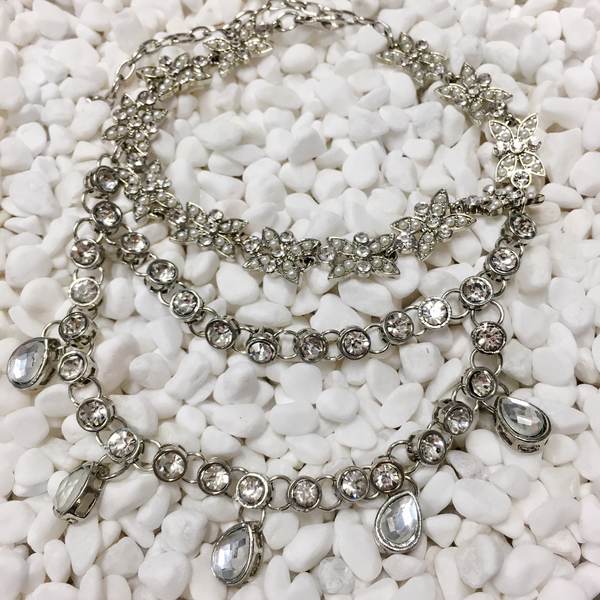 Marina Del Rey Anklets •Silver•