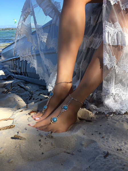 Santorini gold *barefoot jewels*