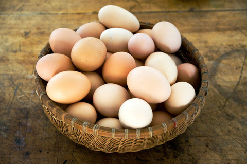 Eggs from Free Range Chickens