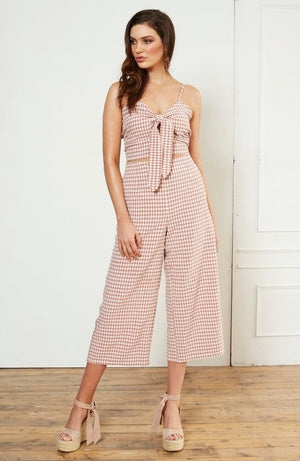 Dandy Gingham Culotte