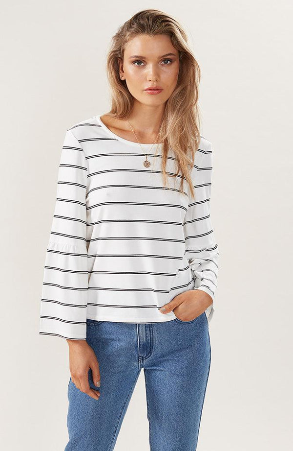 Double Stripe Fashion Top