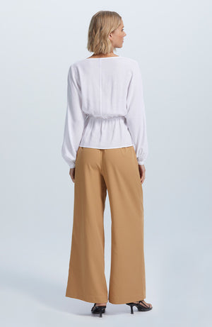 Purist Wrap Blouse