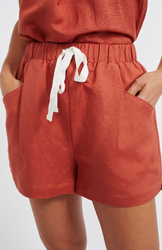 Marmont Shorts in Cinnamon