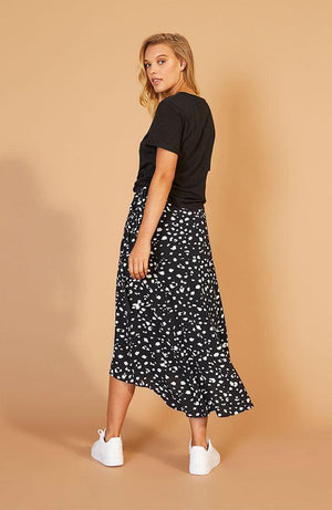 Shadow Midi Skirt