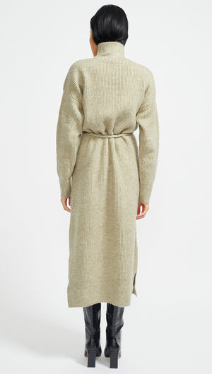 JOSIE KNITTED MIDI DRESS