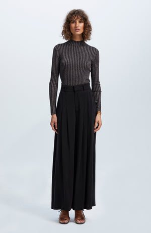 Empire Wide Leg Pants