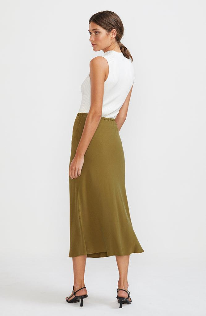 Belize Bias Slip Skirt