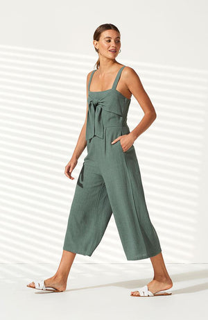 Juniper Cropped Jumpsuit