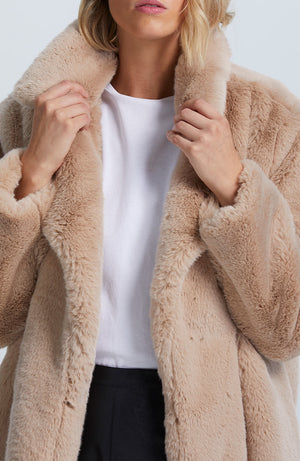 Aria Faux Fur Coat