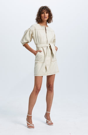 Kinship Blouson Mini Dress