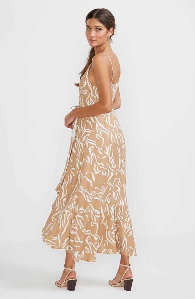 Panama Wrap Sun Dress