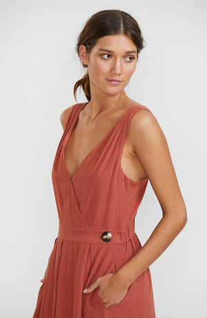 Adelaide Wrap Sun Dress