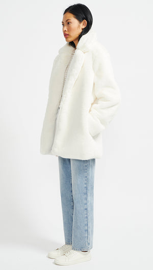LUNA FAUX FUR COAT