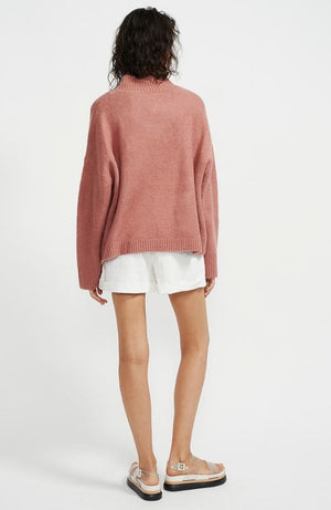 Rose Turtleneck Knit Jumper