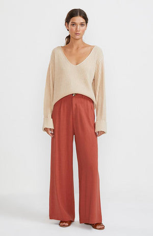 Harlow V-Neck Jumper
