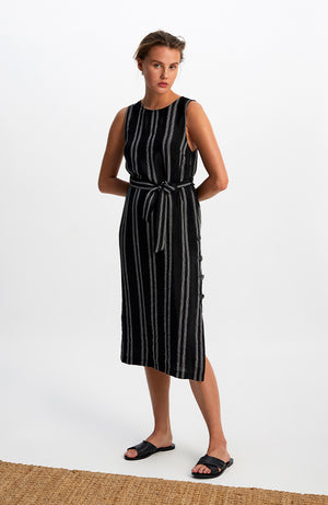 Shadow Midi Dress