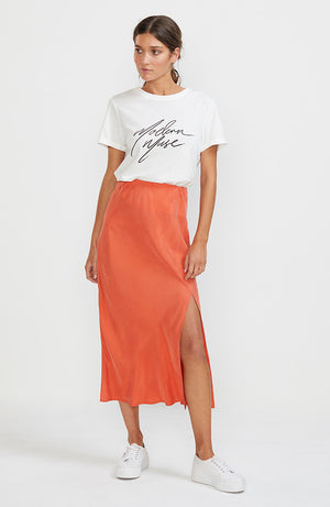 Amelie Bias Slip Skirt