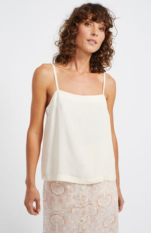 Linen Cami Ivory