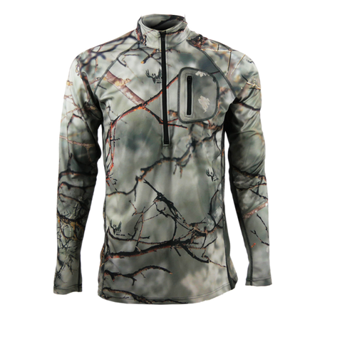 Rock Star Inertia 1/4 Zip Performance Shirt
