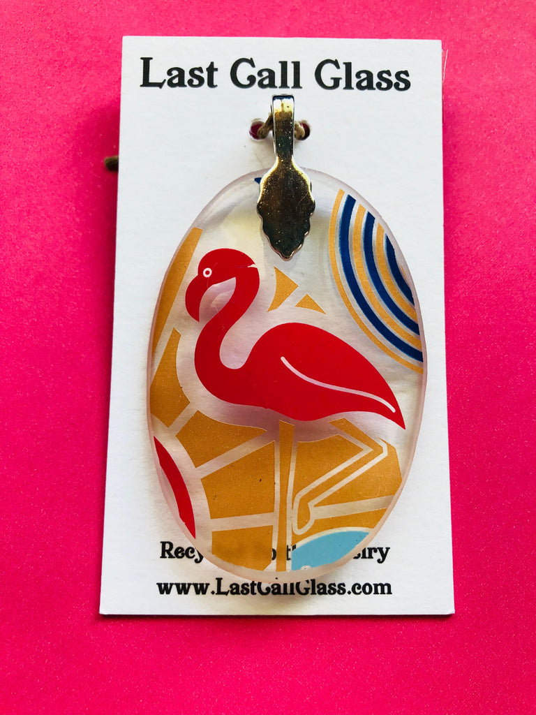 Absolut Miami Flamingo Pendant