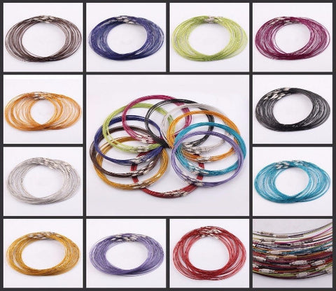 Cable Wire Necklaces