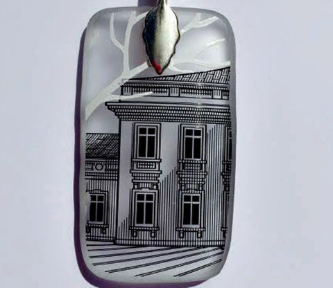 Presidential Palace Pendant