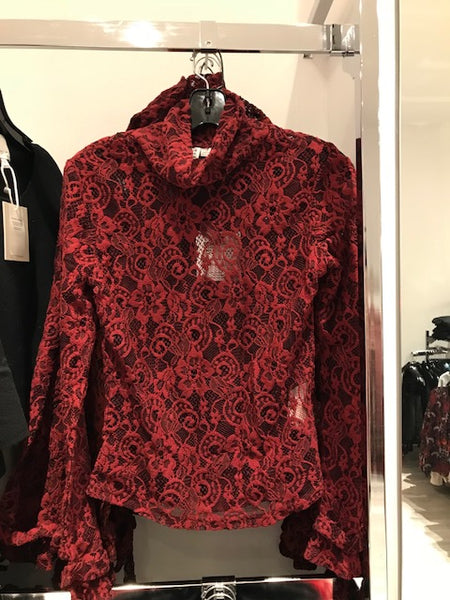 INFLUENCE Ruby Top