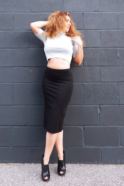 GABOR Black Pencil Skirt