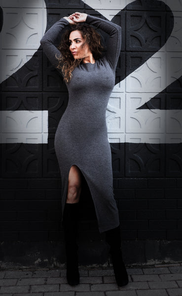 MARLA Grey Dress