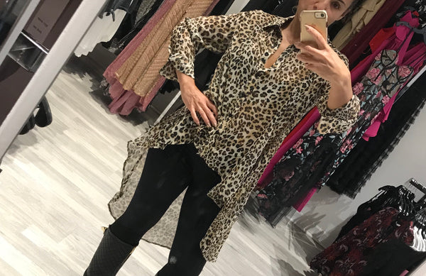 ANIMAL Sheer Top